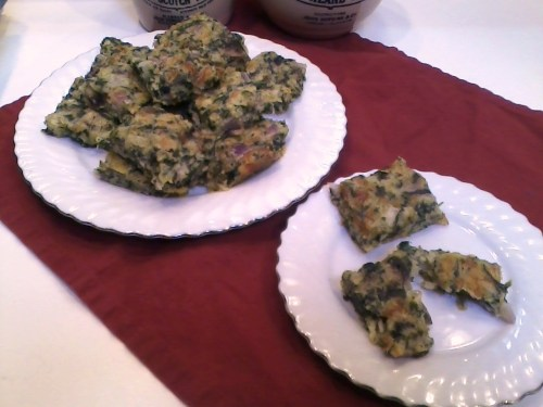 spinach brownies 2