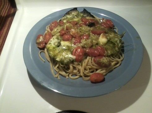 Pesto Mushrooms 2